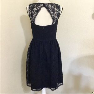 Calvin Klein Dresses - Calvin Klein Blue Lace Fit & Flare Dress
